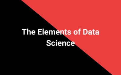 The Elements of Data Science