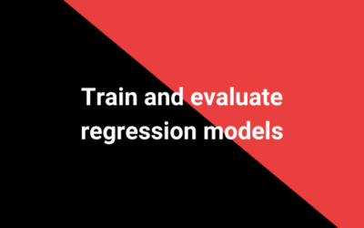Train and evaluate deep learning models