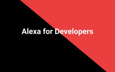 Alexa for Developers
