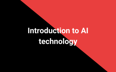 Introduction to AI technology